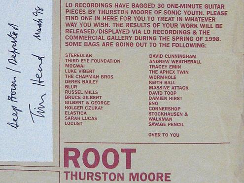 ROOT - Thurston Moore