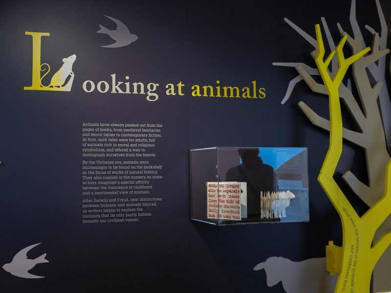 Dolly: Edition Unlimited featured in the 2015 Animal Tales exhibition at the British Library.