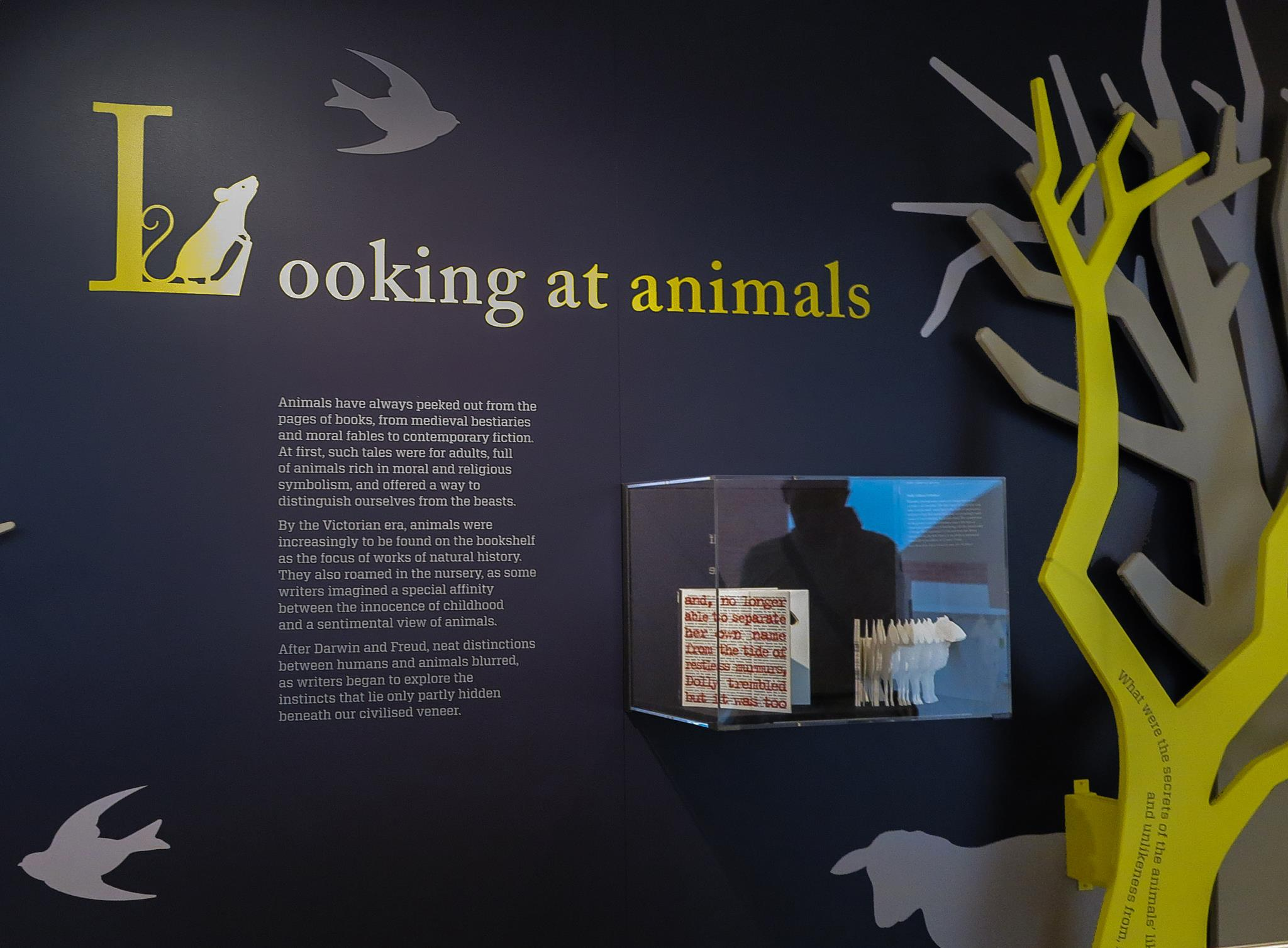Dolly: Edition Unlimited featured in the2015Animal Tales exhibition at the British Library.