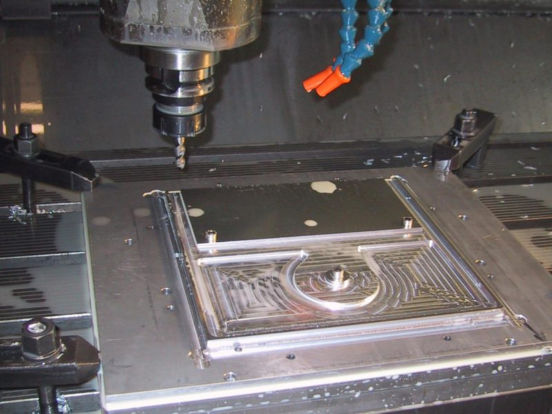 Machining the plate for Hard Done From (to do)